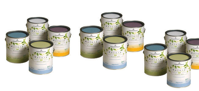 We carry the new Natura Benjamin Moore line